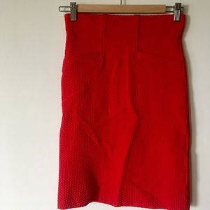 Anthropologie stretch knitted pencil skirt